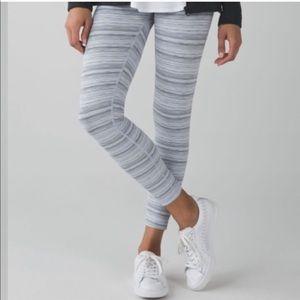 Lululemon High Times Cyber Stripe Leggings